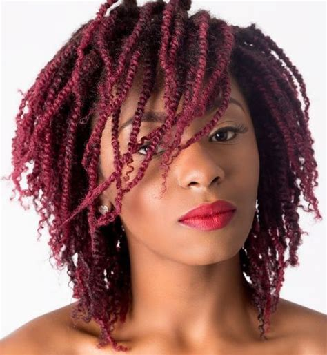 beautiful twisted hairstyles  women  natural