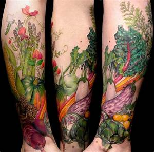 25 Creative and Cool Food Tattoo Designs