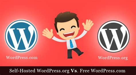hosted wordpressorg   wordpresscom