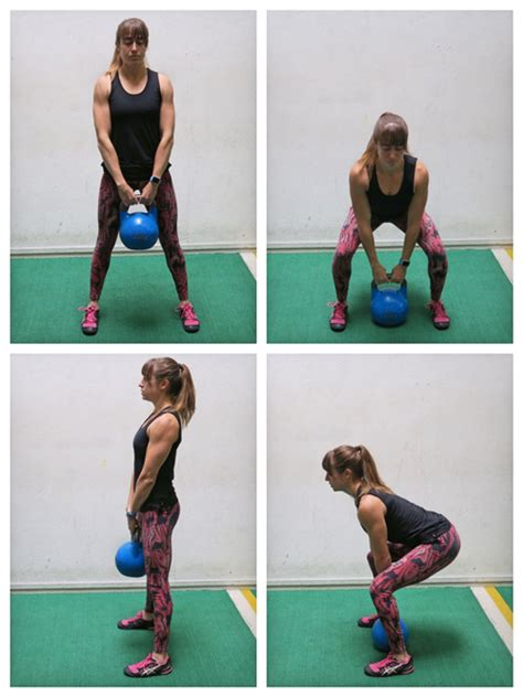 kettlebell deadlift butt exercises killer