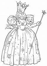 Wizard Oz Coloring Cartoon sketch template