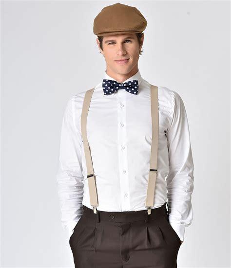 Menu0026#39;s Vintage Style Suspenders