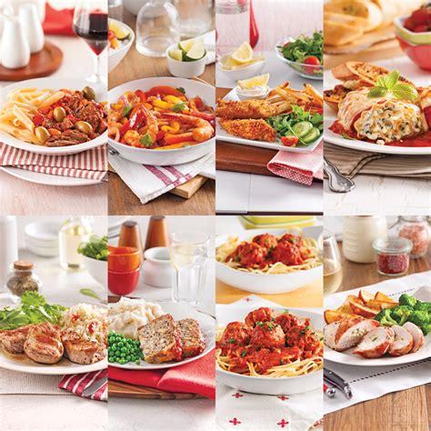 cuisiner sans four liste d 39 épicerie 1 journée de popote 10 soupers sans