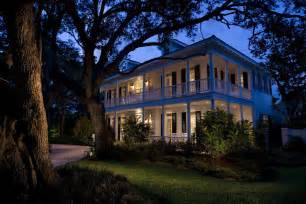 Single Story Plantation House with Wrap around Porch