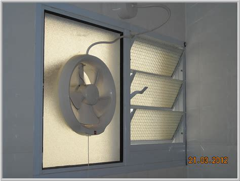 Exhaust Fans For Bathroom Windows by Louvre Windows Singapore Grillesnglass