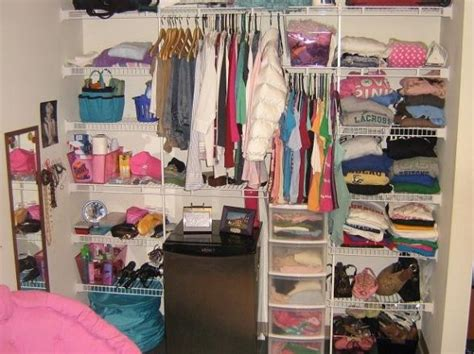 College Closet Organization Ideas by 17 Best Images About College Room Closets On