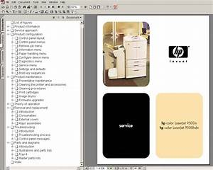 Hp Color Laserjet 9500n 9500hdn Service Manual