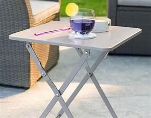 Table D Appoint Jardin : table de jardin pliante et d 39 appoint pour ext rieur ~ Teatrodelosmanantiales.com Idées de Décoration