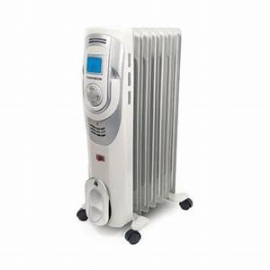 Radiateur à Inertie Thomson : thomson radiateur bain d 39 huile digital 1500 w 7 l ments ~ Edinachiropracticcenter.com Idées de Décoration