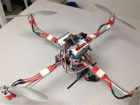 lego nxt based quad diy drones