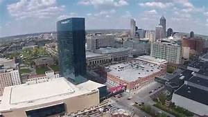 Downtown Indianapolis, JW Marriott and Victory Field - YouTube