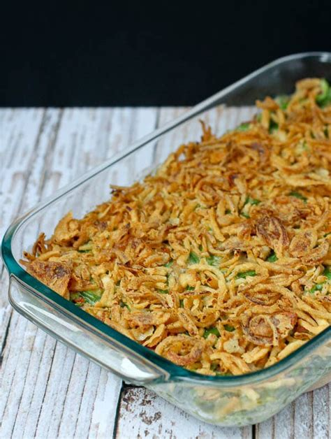 green bean casserole recipe   canned soup