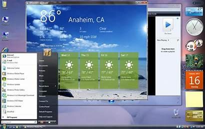 Vista Windows Microsoft Desktop Gadgets Business Xp
