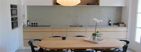 cuisine concept 2000 beton pour plan de travail cuisine beton cire pour plan