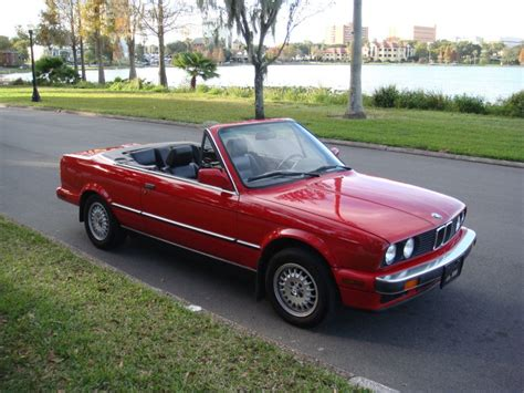 Bmw 325i Convertible For Sale by 1989 Bmw 325i Base Convertible For Sale