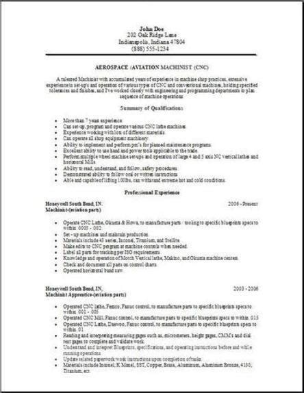 Resume Format For Aviation Industry by Aerospace Aviation Resume Occupational Exles Sles