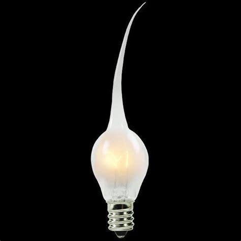 6w s6 silicone tip candelabra base light bulb