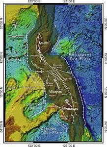 Simplified Tectonic Map Of The Philippines Showing The