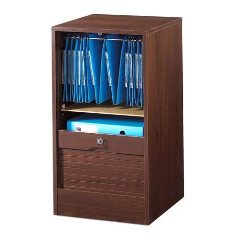 meuble rideau bureau armoire de bureau à rideau bois wengé matha 80