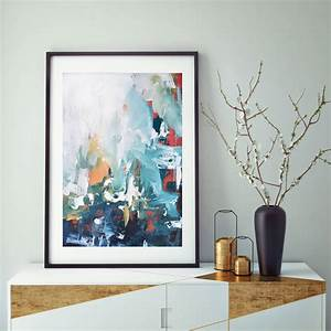 Modern, Framed, Art, Print, Abstract, Wall, Art, By, Abstract, House