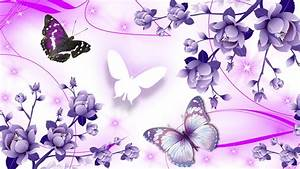 Pink and Purple Butterfly | Abstract hdwallpaper joy Of ...