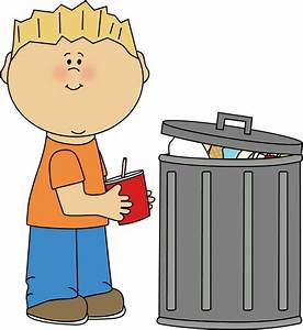 Kid Picking Up Trash Clip Art - Kid Picking Up Trash Image