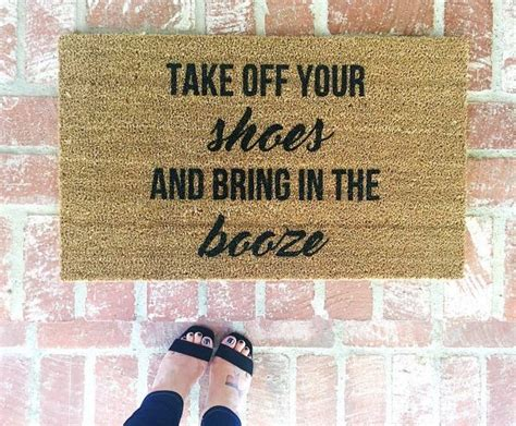 Humorous Doormats by Best 25 Doormats Ideas On Switch