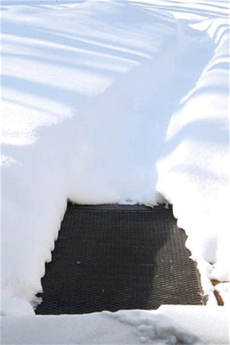 Heated Entrance Floor Mats   Ice and Snow Melting Mats are