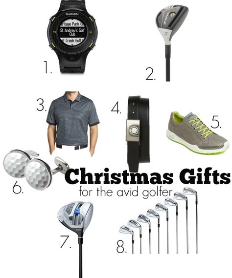 christmas gift guide for the avid golfer chic everywhere