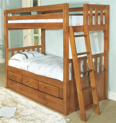 27441 bunk bed convertible discovery world furniture honey convertible