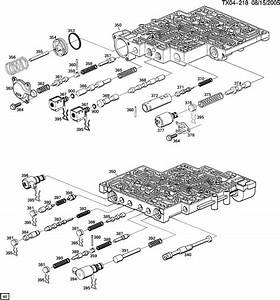 700r4 4l60e Parts Blow Up Diagram