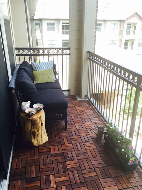 Great Look For An Apartment Balcony Here039s A Tip Module