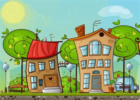 How To Create A Cartoon House In Illustrator