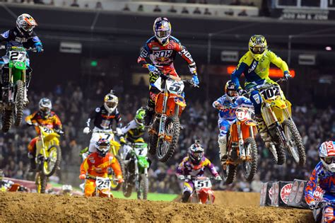 ama motocross 2014 results 2014 ama supercross phoenix results motorcycle com news