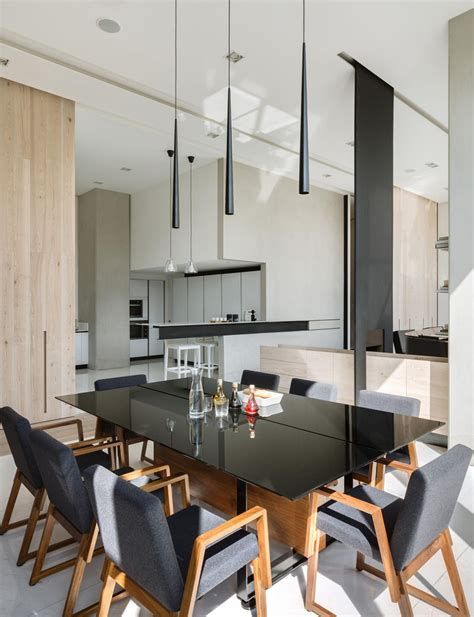 heres   apartments living area  divided   defined spaces     walls contemporist
