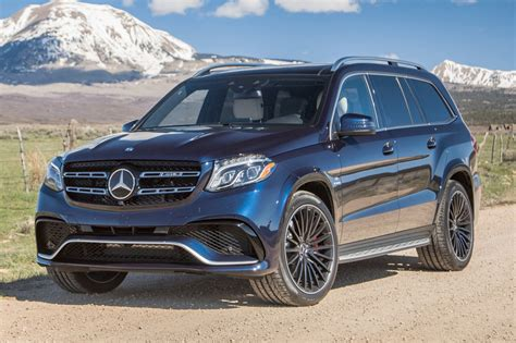 2017 Mercedesbenz Glsclass Suv Pricing & Features Edmunds