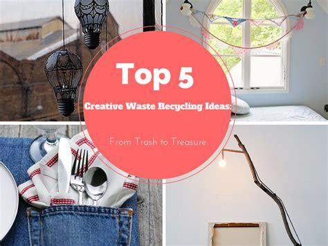 top  diy creative waste recycling ideas  trash