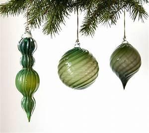 Handmade, Glass, Christmas, Ornaments, U2013, Hunting, Handmade