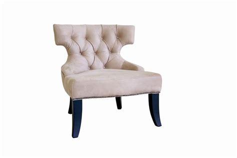 taft beige microfiber club chair affordable modern