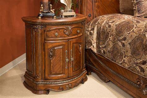 michael amini 4 veneto sleigh bedroom set