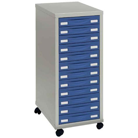 module rangement 4 roulettes 12 tiroirs bleu n c vente de modules 224 tiroirs a4 kwebox