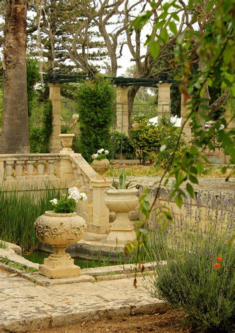 Vegetable garden at Villa Bologna, Malta