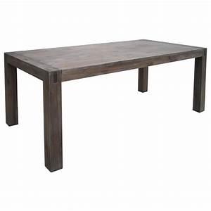 table de salle a manger avec rallonge en acacia achat With salle À manger contemporaineavec table de salle a manger rallonge
