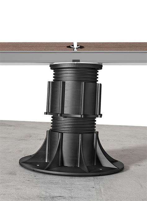 woodeck sous structure avec plot r 233 glable pour lambourde en aluminium