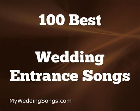 best 25 wedding entrance ideas on reception entrance songs entrance songs