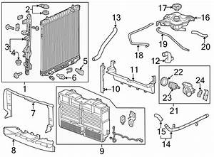 Gmc Canyon Thermostat  Gasket  Coolant  Seal  Engine
