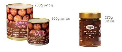 cuisiner des marrons en boite clement faugier boutique les produits clément faugier