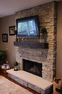 Fireplace Mantels With Tv Above with Inspirationn Corner