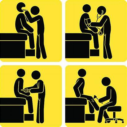 Physical Exam Examination Clipart Signs Clip Universal