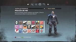 Gears Of War Judgment Skins De Armas Y Armaduras
